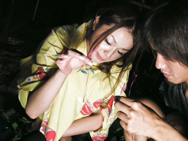 Intensive licking action and fucking with sweet teen Hirota Sakura