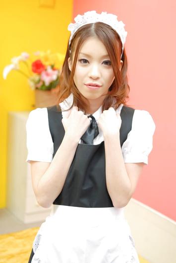 Cute cosplay maid Nao Kojima banging hard