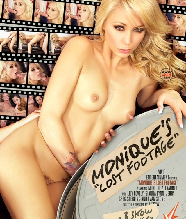 Monique's Lost Footage DVD
