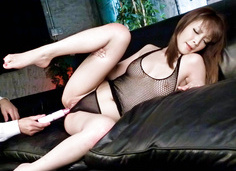 Riona Suzune nailed hard with a vibrator