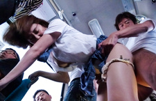 Hot Public BJs On A Bus With School Teen Yuna Satsuki