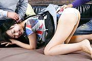 Teen Nozomi Hazuki Gets DPed And Pussy Creampied Photo 1