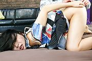 Horny Nozomi Hazuki Takes Pussy And Anal Sex Photo 4