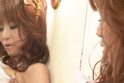 Misa Kikouden feels horny during solo session Photo 8