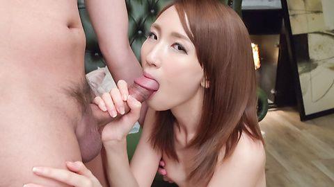 Rika Anna Japan blowjob in superb scenes