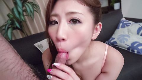 Mai Kamio amazes by sucking cock in special modes