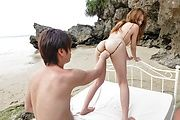 Sexy Jav outdoor sex with appealing Nami Itoshino  Photo 1
