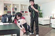 Asian schoolgirl great sex with her teacher while in class  Photo 11