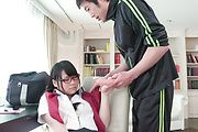 Asian schoolgirl great sex with her teacher while in class  Photo 12