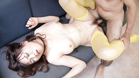 Cute Asian Teen Naho Kojima gets...