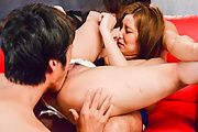 Top Japanese gangbang action along hot Saya Fujiwara  Photo 7