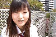 Asian schoolgirl presents herself masturbating  Photo 1