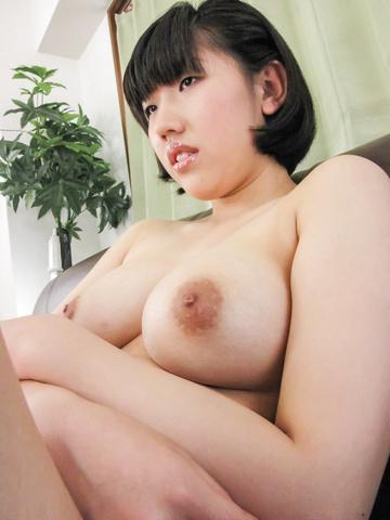 Brunette Hana Harusaki gets ravaged in anal asian porn  Photo 4