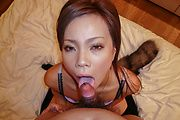 Sakiko amazes with her Asian blowjob skills  Photo 9