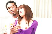 MILF Ibuki Collared, Fucked And Creampied Photo 8