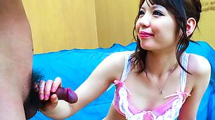 Asian blow job along peachy tits Aya Eikura