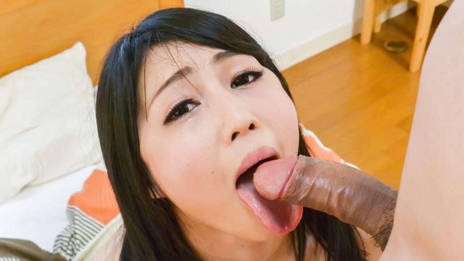 Japan blowjob during hard fucking withReo Saionji
