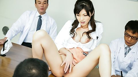 Japanese milf movie with sexy Sara...