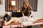 Massage along hot Asian milfAyaka Fujikita Photo 1