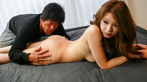 Busty MILF Arisa Kuroki gives asian blowjobs and rides cock asian tits, asian pussy, japanese porn