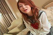 Asian schoolgirl, Ran, having a great fuck on cam Photo 7