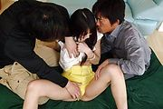 Hot Teen Megumi Shino Gets Ass Fucked And Creampied Photo 9
