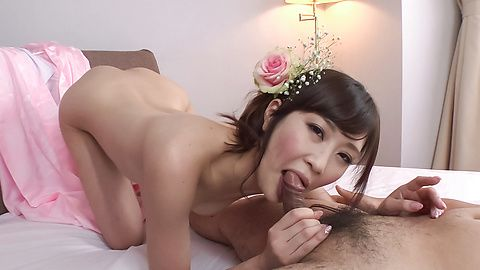 Stunning Group Asian blowjob along insolent wife Kotone Amamiya