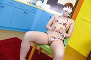 Rinka Aiuchi enjoys facials after japanese blowjobs Photo 4