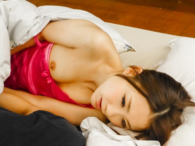 Warm Japanese blowjob by amazingMayuka Akimoto Photo 9