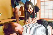 Mayu Kawai amazes wirth her Asian blowjob skills  Photo 10