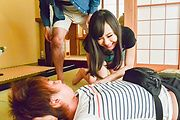 Mayu Kawai amazes wirth her Asian blowjob skills  Photo 8