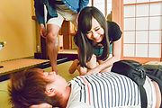 Mayu Kawai amazes wirth her Asian blowjob skills  Photo 9