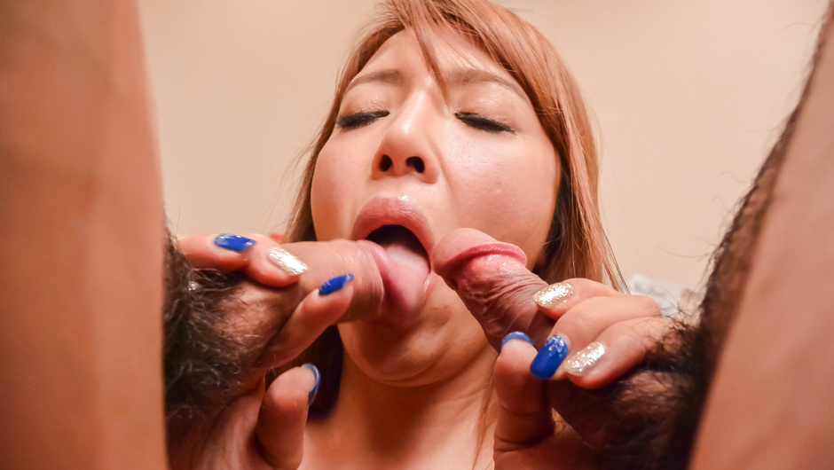 Nasty Asian blowjob by insolent Chieri Matsunaga