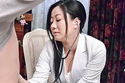 Busty Shino Izumi makes magic with her Asian blojob  Photo 4
