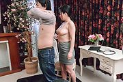 Brunette Asian milf goes the extra milf for cock  Photo 7