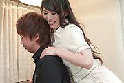 Horny Nana Nakamura provides special Asian blowjob  Photo 10