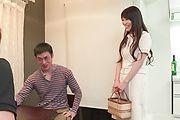 Horny Nana Nakamura provides special Asian blowjob  Photo 1