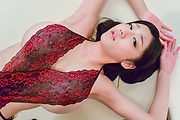 Big tits doll makes magic with her moist lips  Photo 4