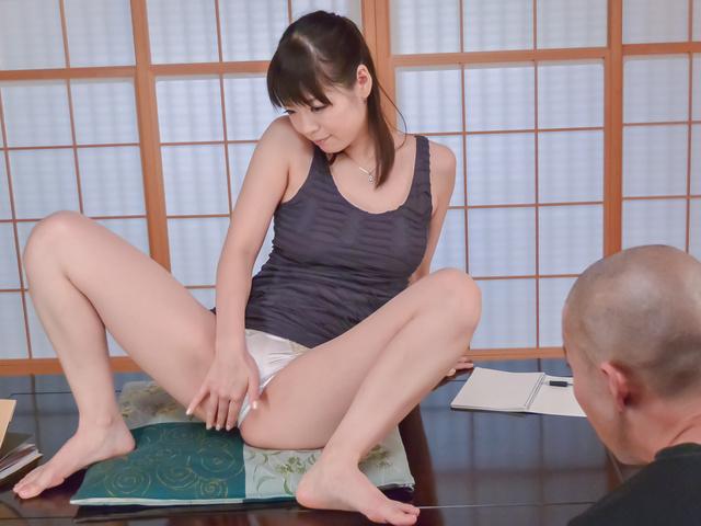 Japanese POV oral show along sexyNao Mizuki Photo 1