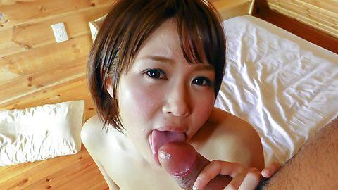 Smashing japan blowjob along...