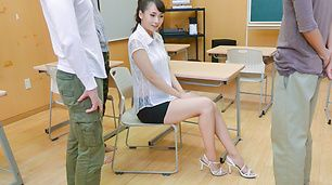 Asian milf, YuiOba,is busy with some cocks