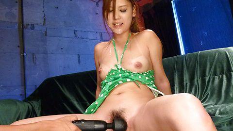 Nice ass babe Nozomi Nishiyama in hardcore action