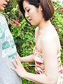 Minami Asano amazes with her outdoor Asian blowjob  Photo 6