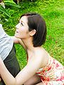 Minami Asano amazes with her outdoor Asian blowjob  Photo 7