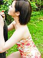 Minami Asano amazes with her outdoor Asian blowjob  Photo 9
