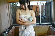 Koyuki Ono in superb Japanese squirting solo show  Photo 11