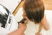 Asami Hoshikawa creampied after an asian ass fucking Photo 10