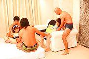Kinky porn show with busty Asian milf,Mirai Haneda Photo 1