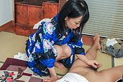 Needy beauty gives alluring blowjob during massage  Photo 9