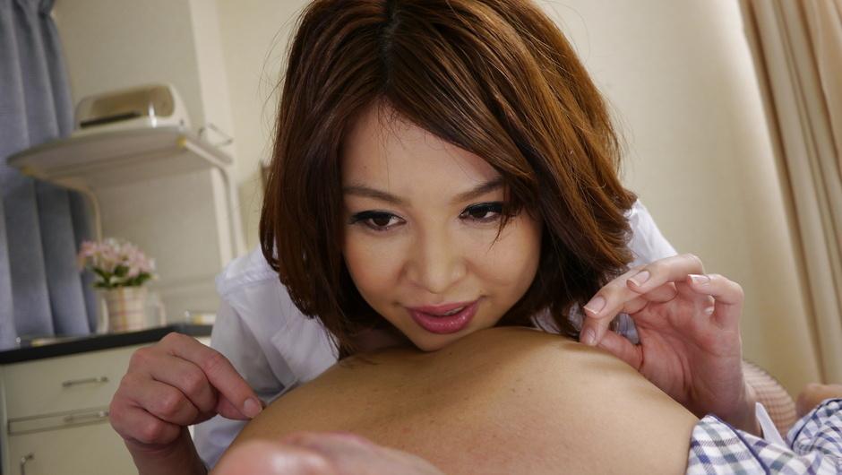 Japanese anal dildo makes Erika Nishino to go nasty